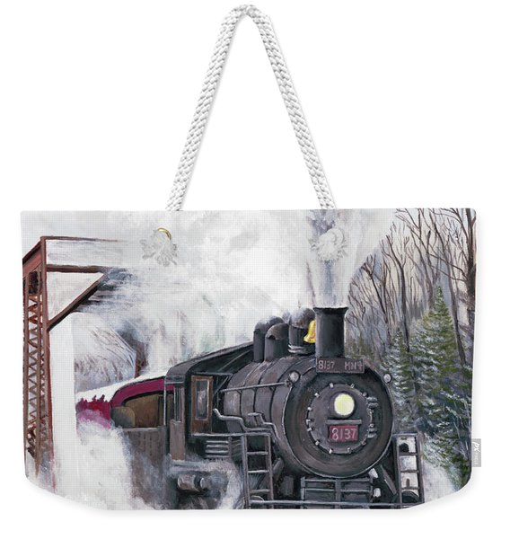 Northbound At 35 Below Weekender Tote Bag