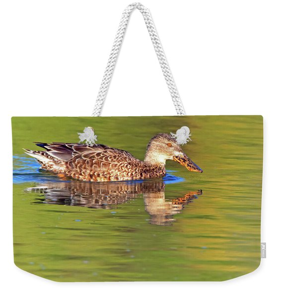 Norther Shoveler Female Weekender Tote Bag