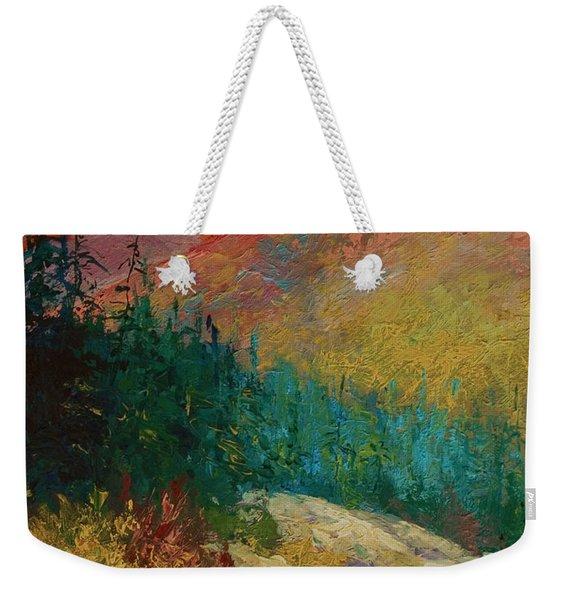 Northern Essence  Weekender Tote Bag