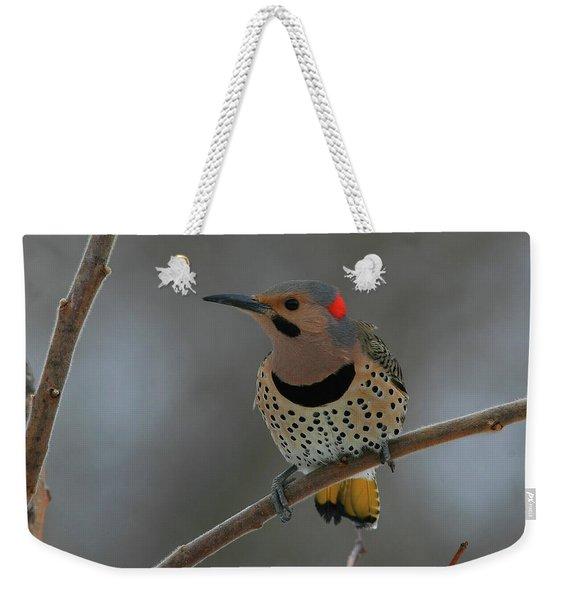 Northern Flicker Weekender Tote Bag