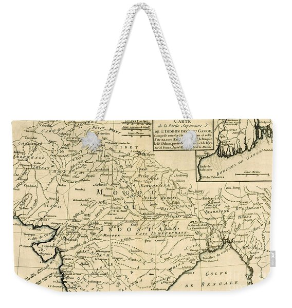 Northern India Weekender Tote Bag