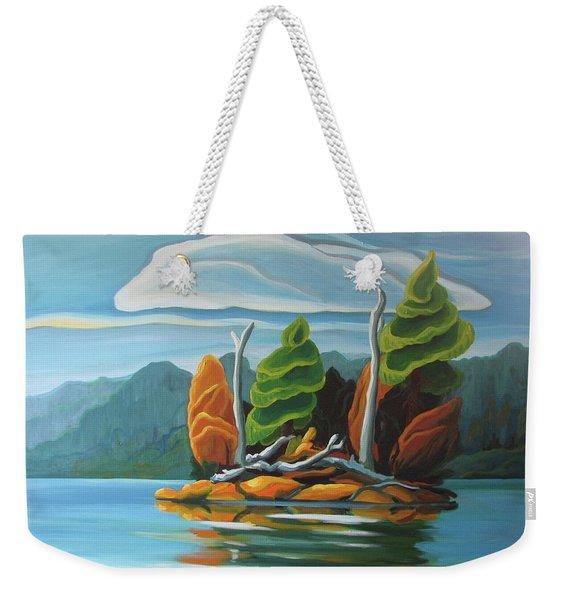 Northern Island Weekender Tote Bag