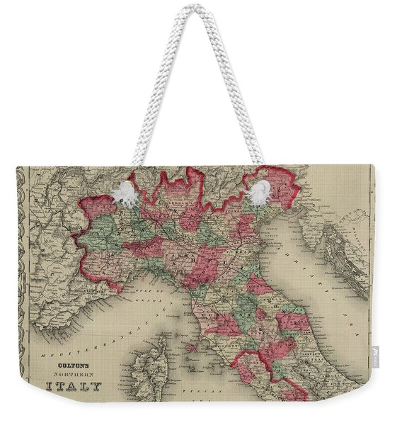 Northern Italy Weekender Tote Bag