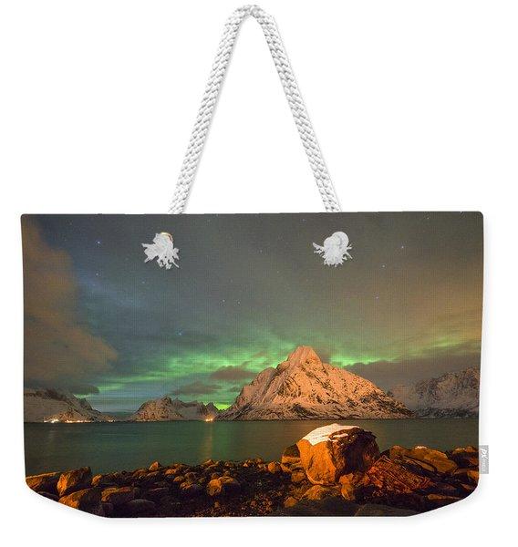 Spectacular Night In Lofoten 3 Weekender Tote Bag