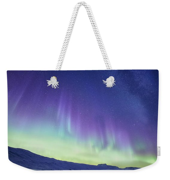 Northern Light Weekender Tote Bag