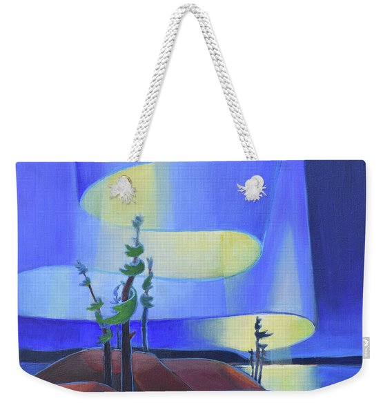 Northern Sky Weekender Tote Bag
