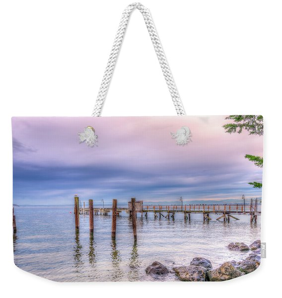 Pacific Northwest Pastel Weekender Tote Bag