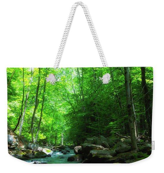 Northwood Brook Weekender Tote Bag