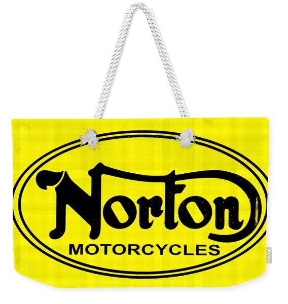 Norton Motorcycles Weekender Tote Bag