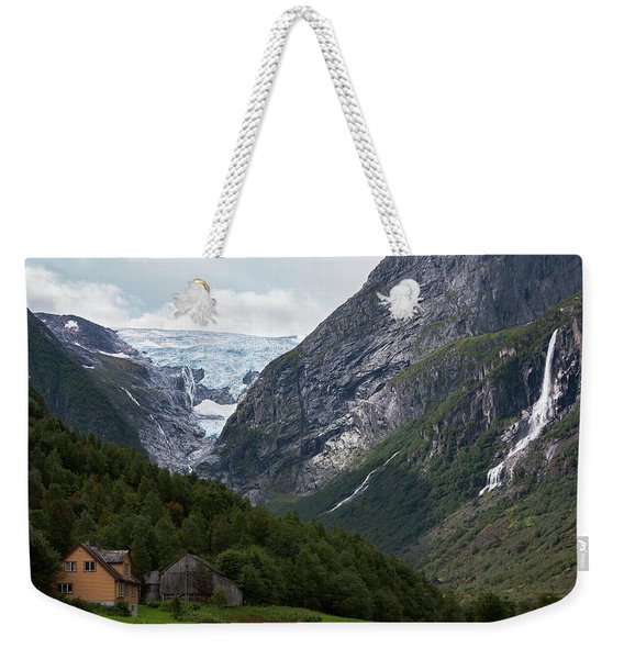 Norway Glacier Jostedalsbreen Weekender Tote Bag