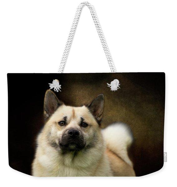 Norwegian Buhund Weekender Tote Bag