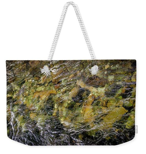 Norwegian Stream Weekender Tote Bag