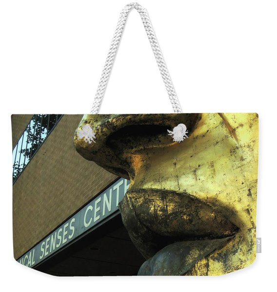 Nose And Lips Weekender Tote Bag