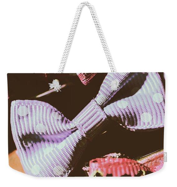 Nostalgia In The Fashion Isle Weekender Tote Bag