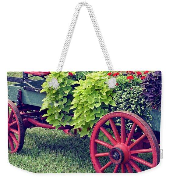 Nostalgia Pretty Weekender Tote Bag
