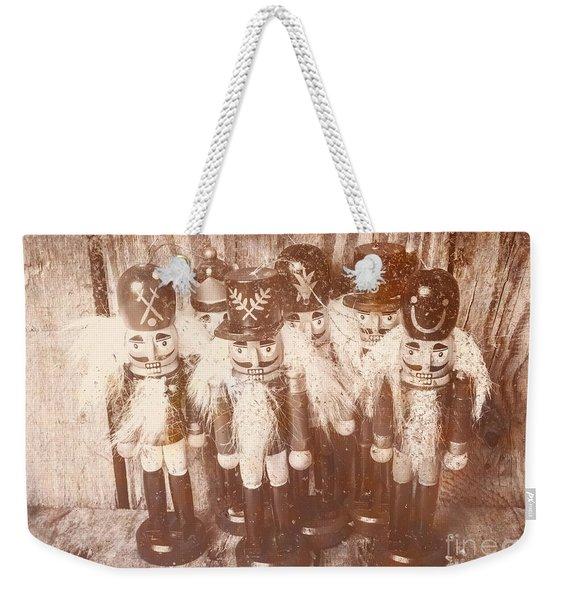 Nostalgic Childhood Mementos Weekender Tote Bag