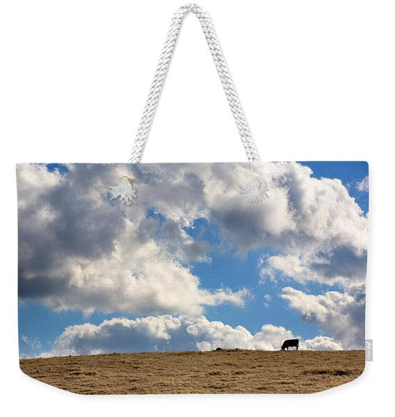 Not A Cow In The Sky Weekender Tote Bag