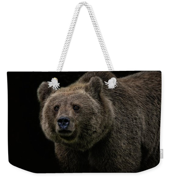 Not A Cuddly Toy Bear Weekender Tote Bag