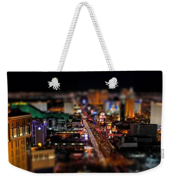 Not Everything Stays In Vegas - Tiltshift Weekender Tote Bag