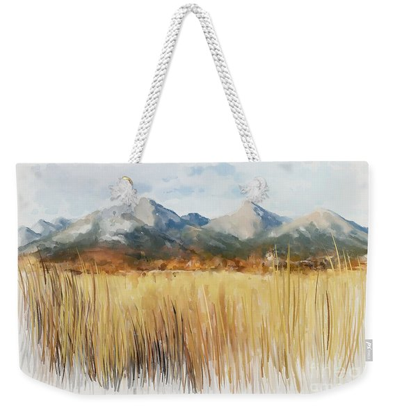 Not Far Away Weekender Tote Bag