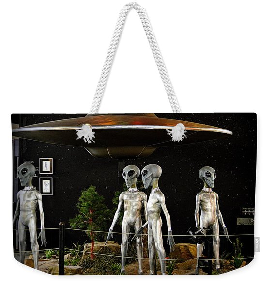 Not Of This Earth Weekender Tote Bag
