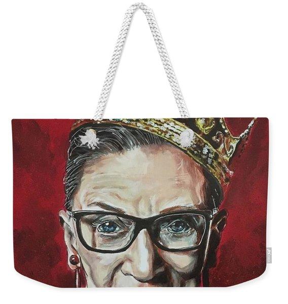 Notorious Rbg Weekender Tote Bag