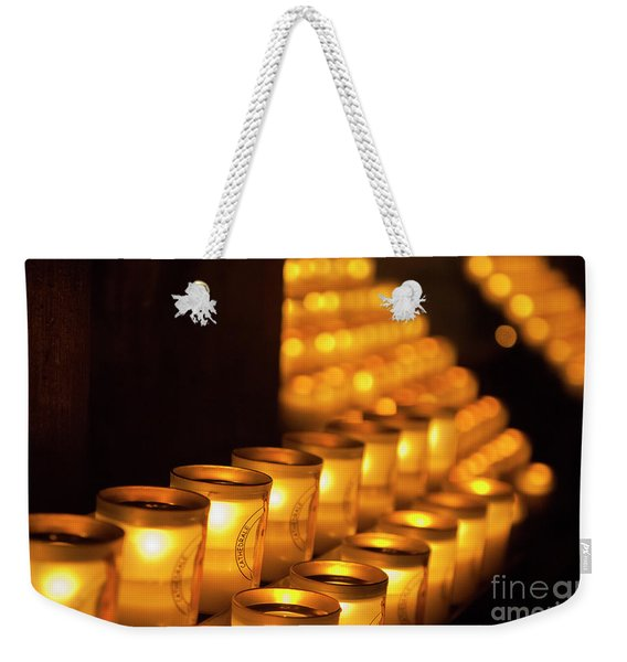 Notre Dame Candles Weekender Tote Bag