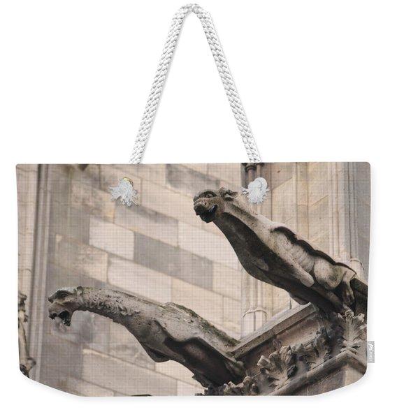 Notre Dame Cathedral Gargoyles Weekender Tote Bag