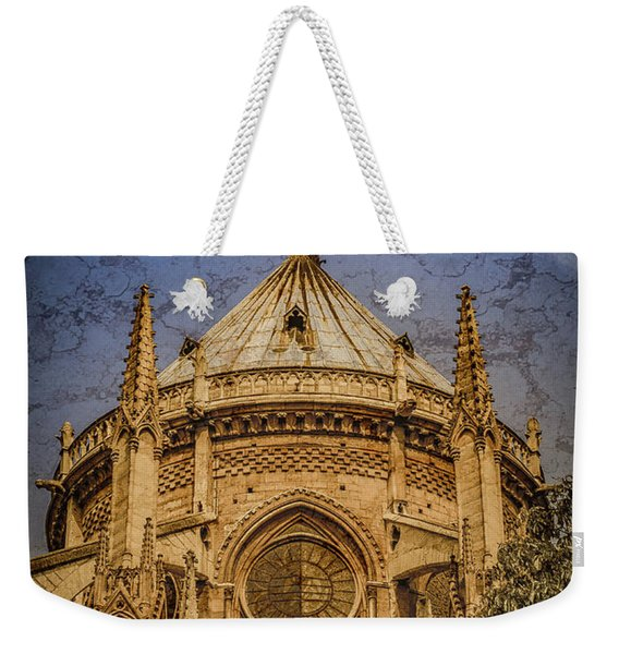 Paris, France - Notre-dame De Paris - Apse Weekender Tote Bag