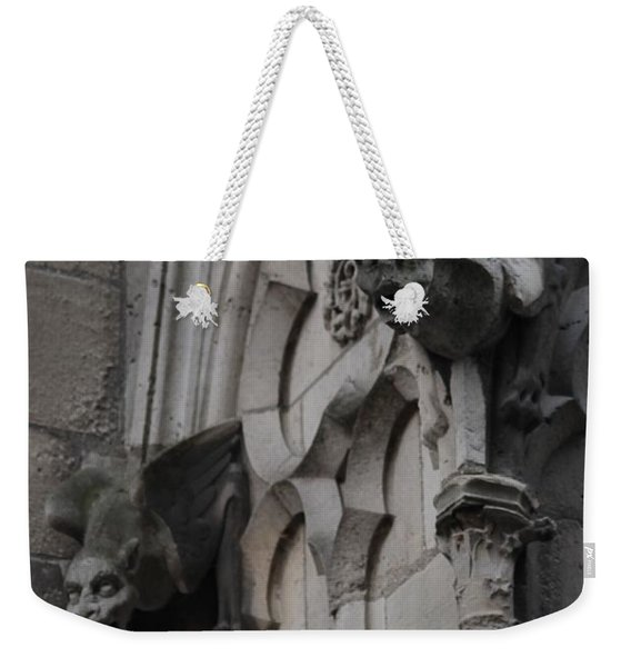 Notre Dame Grotesques Weekender Tote Bag