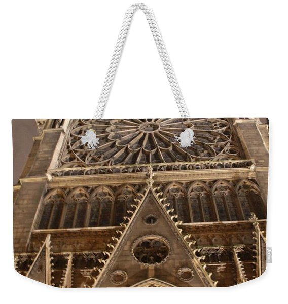 Notre Dame North Weekender Tote Bag