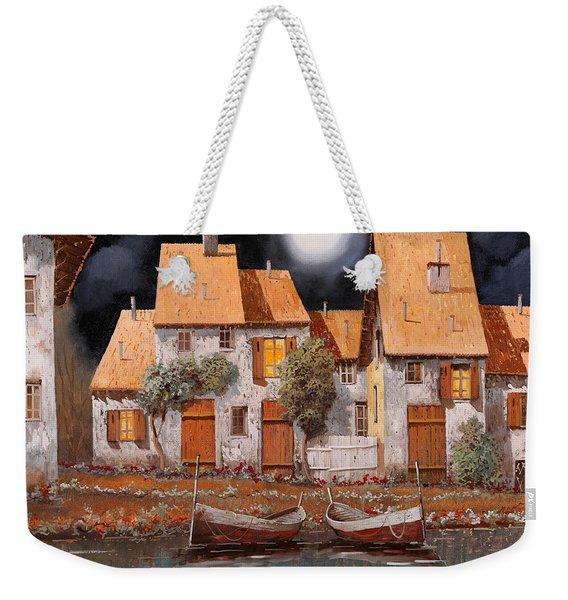 Notte Di Luna Piena Weekender Tote Bag