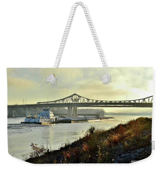 November Barge Weekender Tote Bag