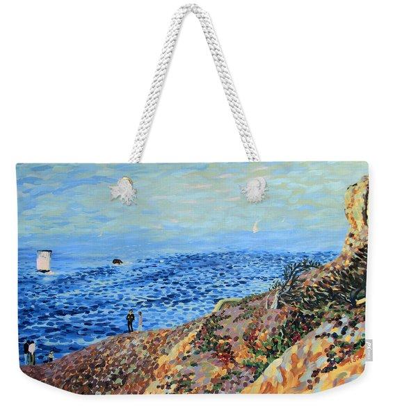 November Day At Point Lobos San Francisco Weekender Tote Bag