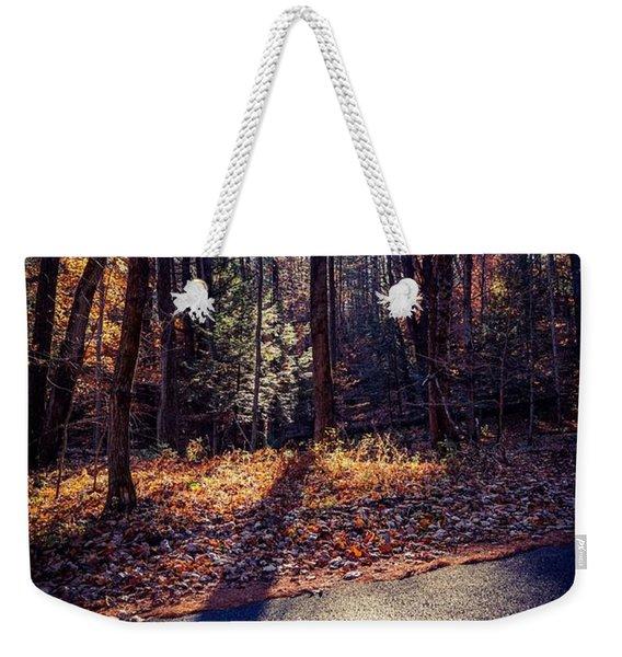November Light Weekender Tote Bag