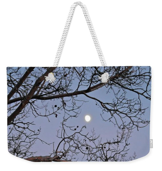 November Moon Weekender Tote Bag