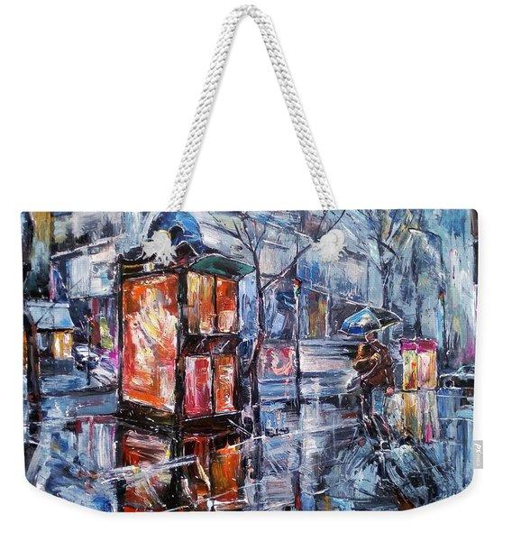 November Walk II Weekender Tote Bag