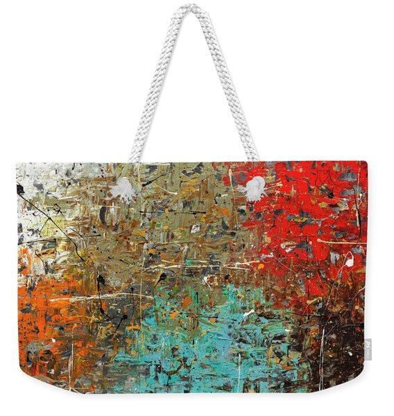 Now Or Never Weekender Tote Bag
