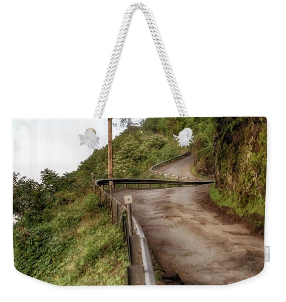 Nowhere But Up Weekender Tote Bag