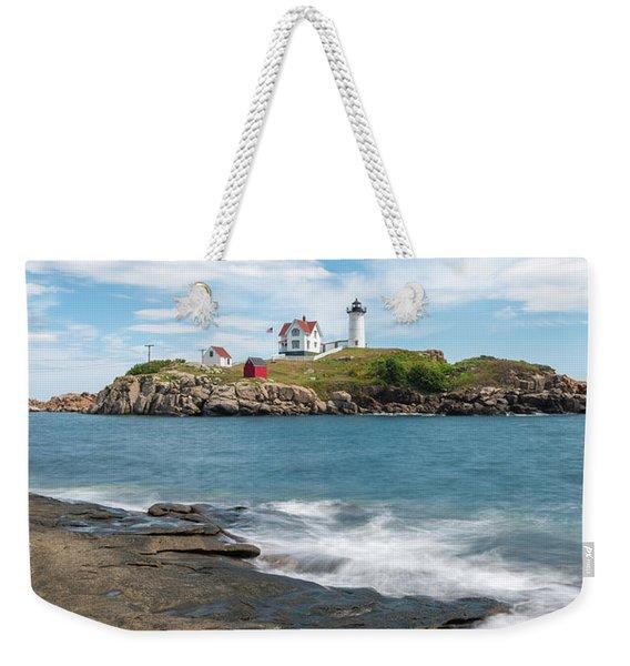 Nubble Light IIi Weekender Tote Bag