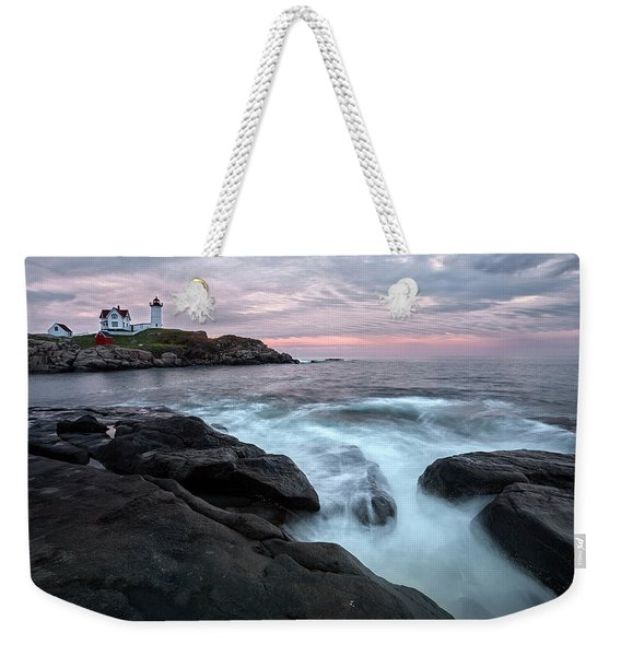 Nubble Lighthouse Of Maine Weekender Tote Bag