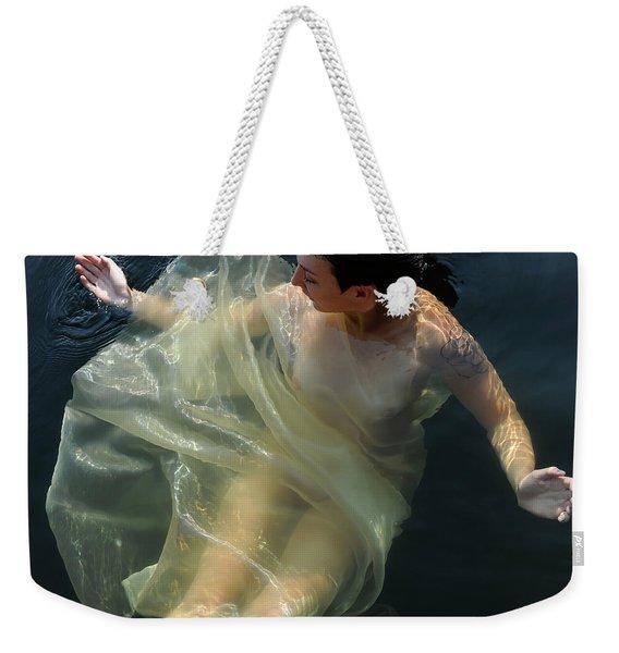 Embracing Pleasure Weekender Tote Bag
