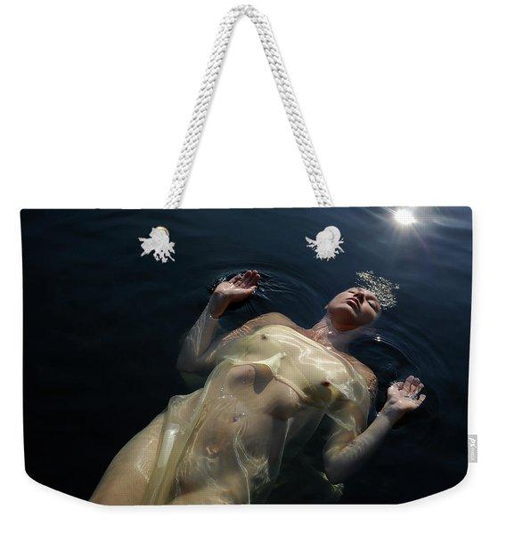Queen Of The Lake Weekender Tote Bag
