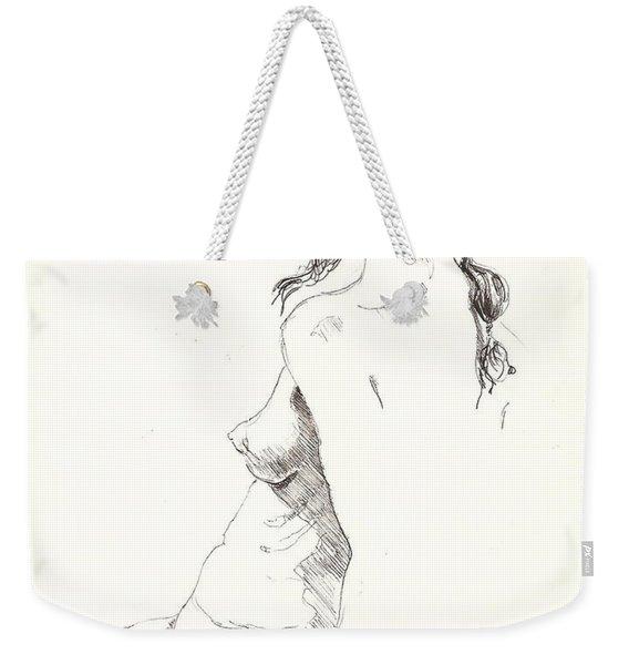 Nude 9 Weekender Tote Bag