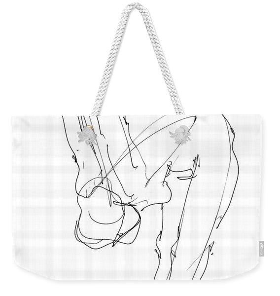 Nude Female Drawings 10 Weekender Tote Bag