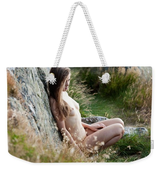 Nude Girl In The Nature Weekender Tote Bag