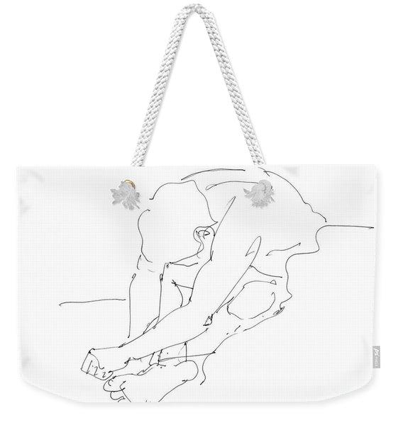 Nude Male Drawings 8 Weekender Tote Bag