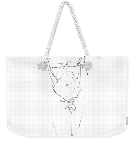 Nude Male Drawings 9 Weekender Tote Bag