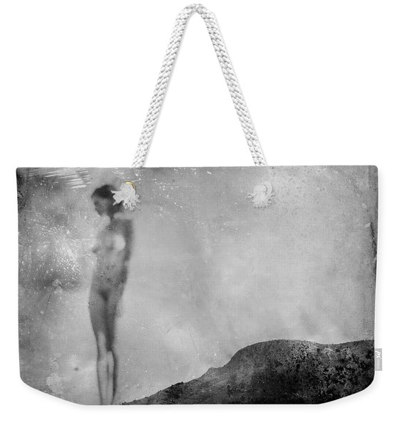 Nude On The Fence, Galisteo Weekender Tote Bag