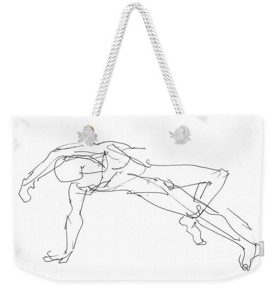 Nude_male_drawings_23 Weekender Tote Bag